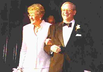 Glenn Allen Scott and Anne C. Brower Wedding Portrait